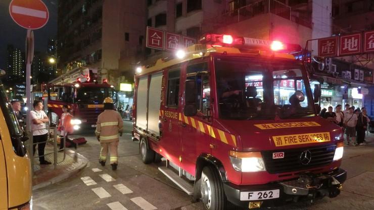 Pożar budynku mieszkalnego w Chinach. Zginęło 19 osób