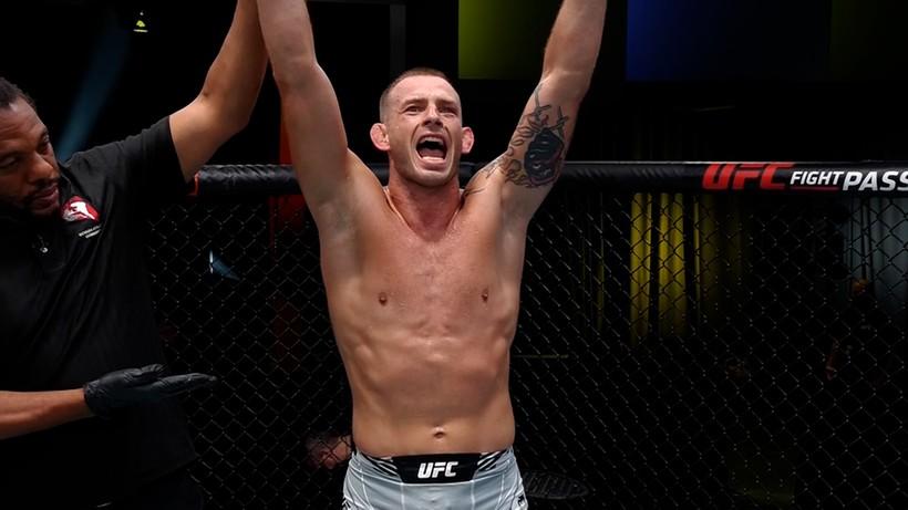 UFC Vegas 38: Krzysztof Jotko wrócił na zwycięską ścieżkę (WIDEO)