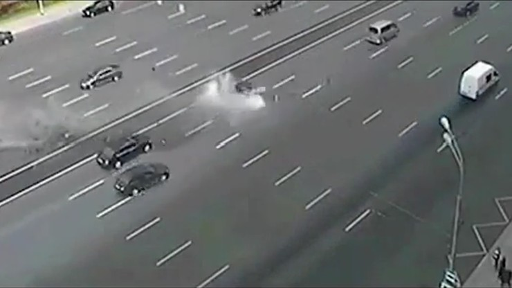 Wypadek limuzyny Putina. Zginął szofer prezydenta Rosji