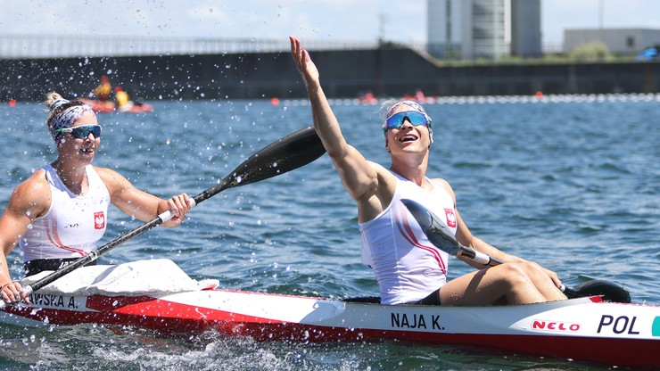 Tokio 2020. Naja i Puławska zdobyły srebrny medal w K2 500 m