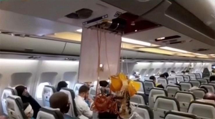 Chwile grozy na pokładzie samolotu. Amerykański myśliwiec mógł spowodować katastrofę