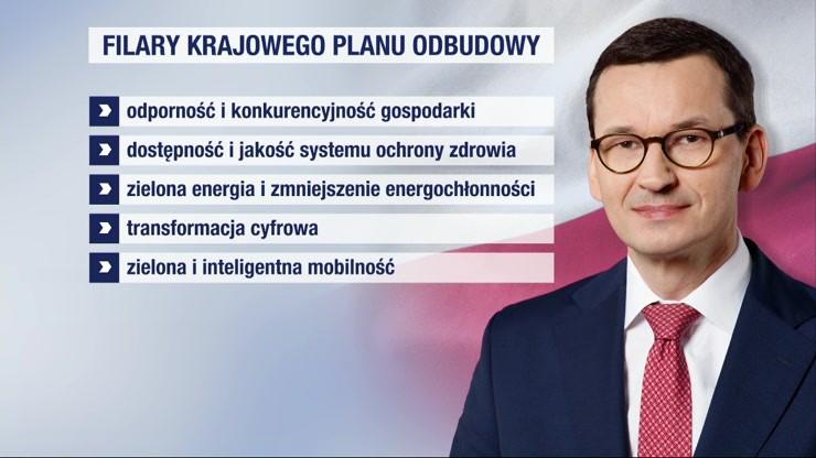"""Plan odbudowy gospodarki. """"Wydarzenia"""": blisko 60 mld euro dla Polski"""