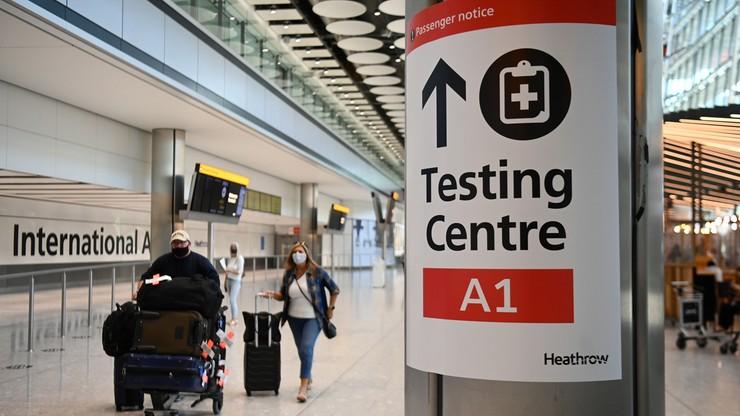 Delta odpowiada za 91 proc. nowych zakażeń w Wielkiej Brytanii