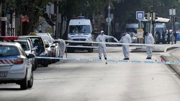 Celem byli policjanci. Eksplozja w centrum Budapesztu