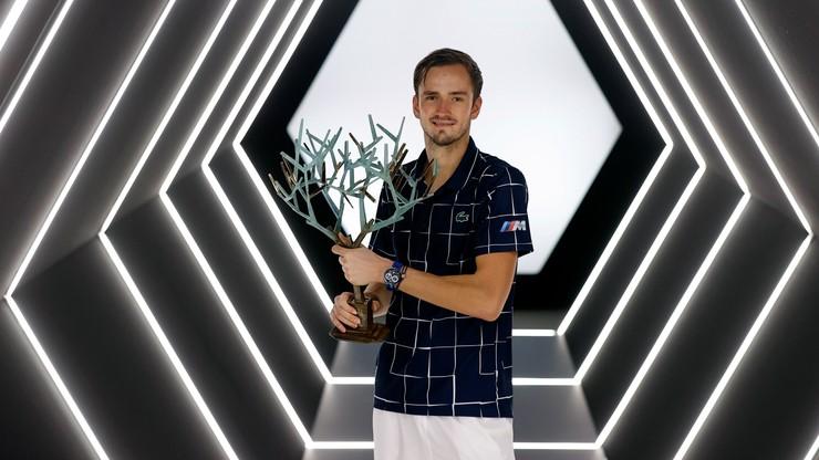 ATP w Paryżu: Triumf Miedwiediewa