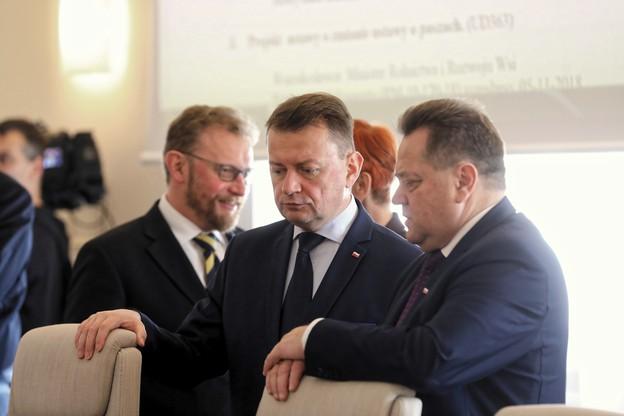 Błaszczak: przesłuchanie Tuska udowodniło, że b. premier nie nadzorował służb specjalnych