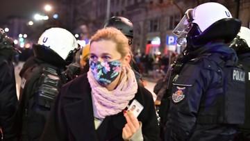 Ziobro: uzasadnione użycie gazu leży w kompetencjach policji