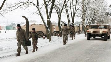 Wypadek amerykańskiej ciężarówki wojskowej w Lubuskiem