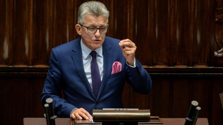 Piotrowicz: nowa ustawa o TK ma umożliwić sprawniejsze działanie tego organu