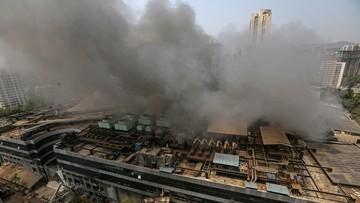 Pożar w covidowym szpitalu. Zginęło 10 osób