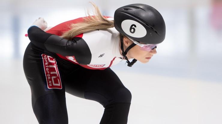 PŚ w short tracku: Maliszewska w ćwierćfinale 500 m w Szanghaju