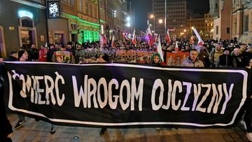 Władze Wrocławia rozwiązały marsz narodowców. Jednym z jego organizatorów był Międlar