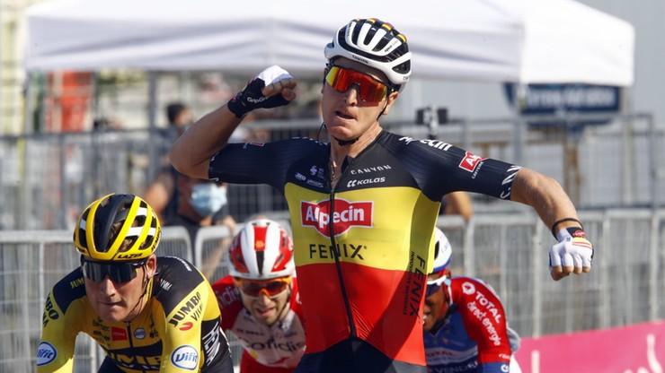 Tirreno-Adriatico: Merlier wygrał 6. etap, Majka wciąż drugi w wyścigu
