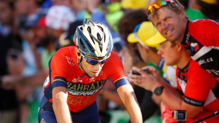 Tour de France: Nibali mógł doznać kontuzji kręgosłupa