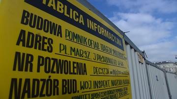 Wojewoda mazowiecki zapewnia: Pomnik Ofiar Tragedii Smoleńskiej będzie gotowy na 10 kwietnia