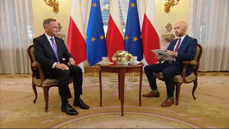Prezydent Andrzej Duda: jestem przeciwnikiem zmuszania ludzi do szczepień