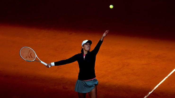 WTA w Rzymie: Świątek - Keys. Relacja na żywo
