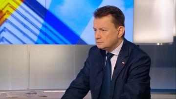"""""""Dyktatorem był wówczas Jaruzelski, a nie Piotrowicz"""". Błaszczak o świadczeniach byłych prokuratorów PRL"""