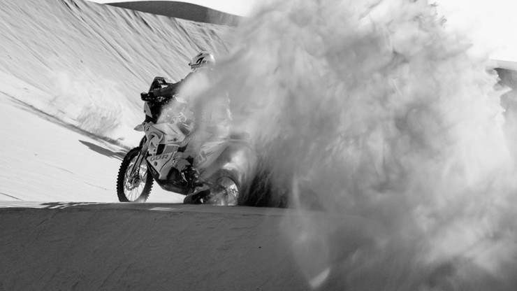 Tragedia podczas Rajdu Dakar. Motocyklista Pierre Cherpin nie żyje