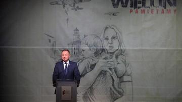 """""""II wojna światowa zaczęła się od zbrodni wojennej"""". Prezydent Duda w Wieluniu"""