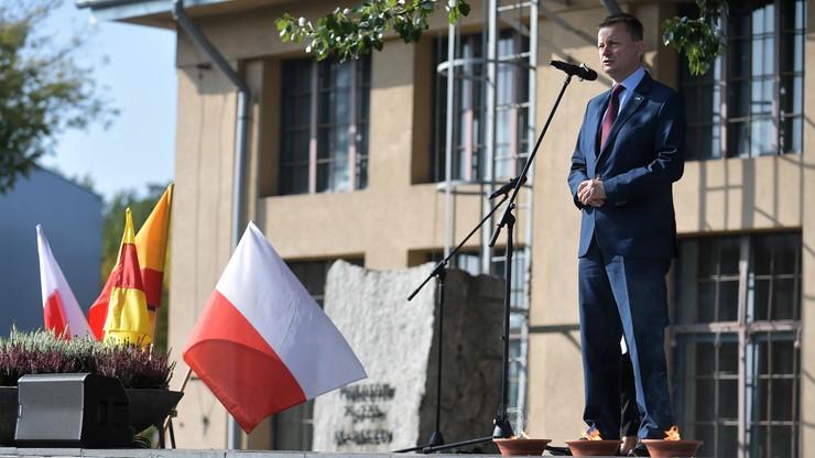 Szef MON: dążenie do tego, by Polska była wolna stanowi fundament naszej tożsamości narodowej