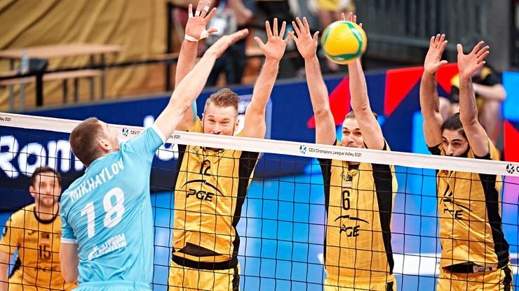 Liga Mistrzów siatkarzy: PGE Skra za burtą, ZAKSA poznała półfinałowego rywala