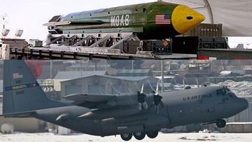 """Amerykanie zrzucili w Afganistanie """"Matkę wszystkich bomb"""". Chcieli wypalić ogniem jaskinie dżihadystów"""