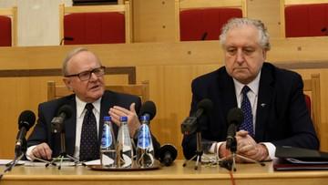 Rzepliński: komisja mająca rozwiązać spór ws. TK pozoruje prace