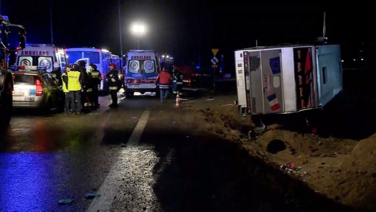 Wypadek na S3. Sąd odrzucił wniosek o areszt dla kierowcy autobusu