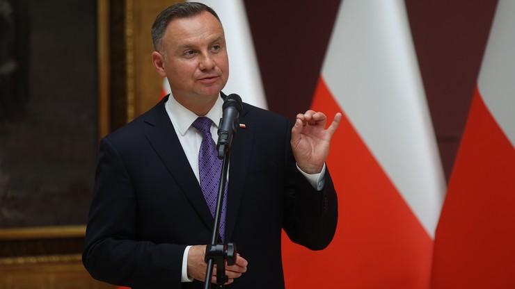 Prezydent Adnrzej Duda: wolna Polska składa dziś hołd swoim zabitym córkom i synom