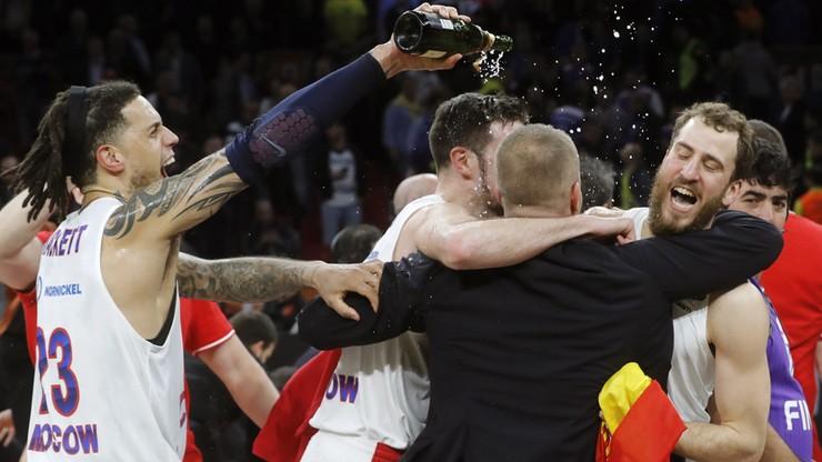 Euroliga: Ósmy w historii triumf CSKA Moskwa