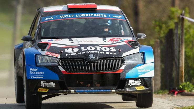 Rajd Portugalii: Elfyn Evans liderem po 2. etapie, Kajetan Kajetanowicz drugi w WRC3