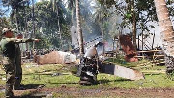 47 żołnierzy zginęło w katastrofie samolotu transportowego