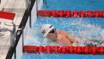 Tokio 2020: Polska sztafeta 4x100 m st. dowolnym odpadła w eliminacjach