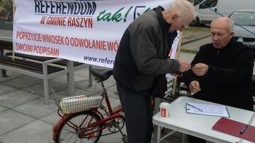 Mieszkańcy Raszyna chcą referendum ws. metropolii warszawskiej
