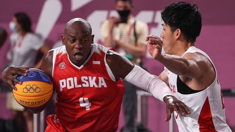 Tokio 2020: Porażka i zwycięstwo Polaków w pierwszym dniu turnieju koszykówki 3x3