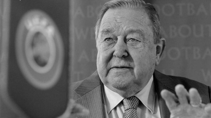 Zmarł były szef UEFA Lennart Johansson