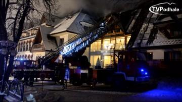 """""""Pracownik hotelu wyłączył instalację alarmową"""". Raport straży pożarnej po pożarze w hotelu Belvedere"""
