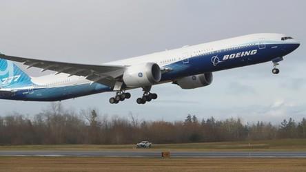Zobaczcie pierwszy lot Boeinga 777-X, największej maszyny w historii firmy
