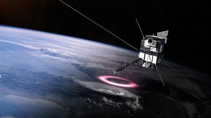 Startuje kosmiczna misja Taranis z udziałem Polaków