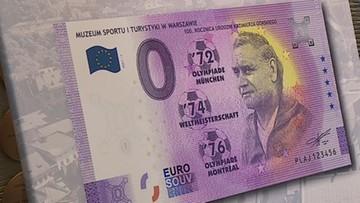 Kolekcjonerski banknot z trenerem Kazimierzem Górskim dostępny od 2. marca