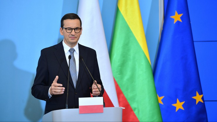 Mateusz Morawiecki: każdy gniewny pomruk ze strony Kremla czy Mińska musi wywoływać konsolidację