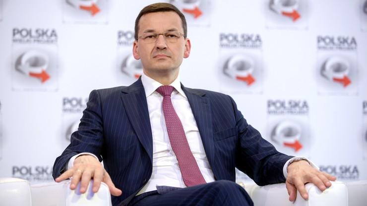 Morawiecki: prognozy KE dot. wzrostu PKB o 3,5 proc. niedoszacowane