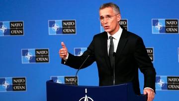 Szef NATO o konflikcie w Syrii