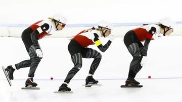 PŚ w łyżwiarstwie szybkim: Piąte miejsce Polek w wyścigu drużynowym
