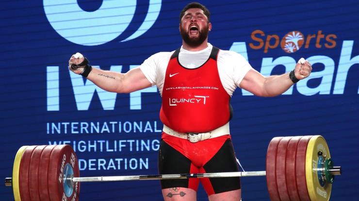 MŚ w ciężarach: Tałachadze zwyciężył w najcięższej kategorii. Pobił trzy rekordy świata!