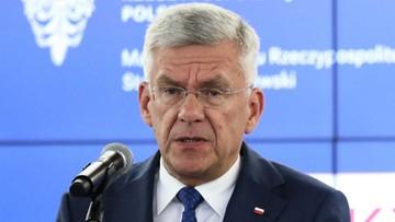 Karczewski o liście b. ambasadorów do Trumpa: jest antypolski, to szkodzenie interesowi Polski