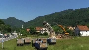 Zburzyli prawosławny kościół