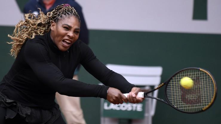 French Open: Serena Williams wycofała się z turnieju