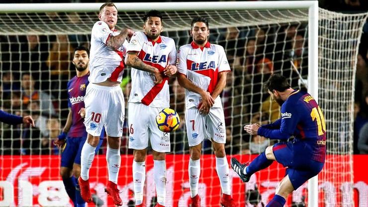 Rekordzista Messi! FC Barcelona wymęczyła zwycięstwo z Alaves
